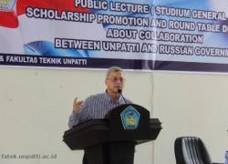 Kuliah Umum Direktur Pusat Ilmu Pengetahuan dan Kebudayaan Federasi Rusia