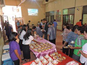 Suasana Snack Pagi di Hall Jurusan Matematika FMIPA Unpatti