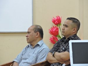 Prof. Dr. Ir. Agus Kastanya, Ketua Relawan Jurnal Indonesia wilayah Malukubersama Ketua Jurusan Matematika FMIPA Unpatti