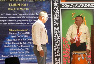 SELEKSI MTQ MAHASISWA TINGKAT UNIVERSITAS PATTIMURA