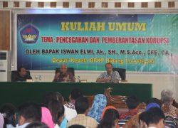 Kuliah Umum: Pencegahan dan Pemberantasan Korupsi