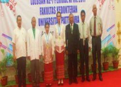 Dua Dokter Baru FK UNPATTI, Dilantik