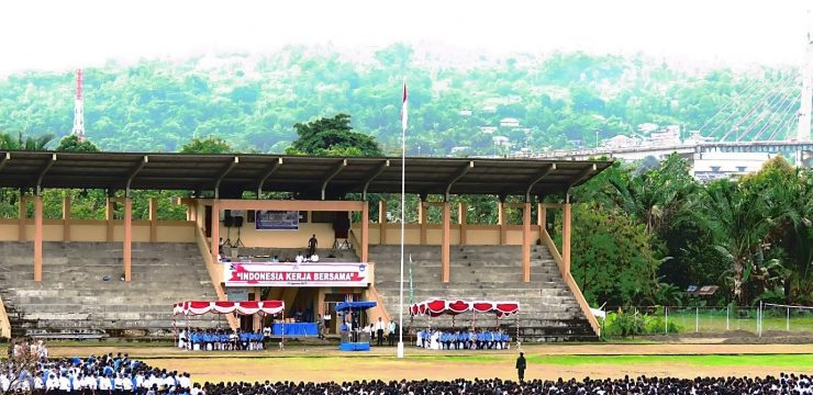 Rangkaian Upacara HUT RI ke 72  dan Launching PKKMB 2017